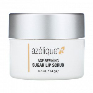 Azelique, Антивозрастной скраб для губ с сахаром, 14 г (0,5 унции)