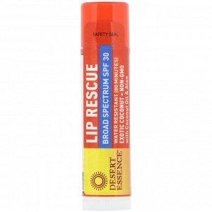 Desert Essence, Lip Rescue, SPF 30, Exotic Coconut, .15 oz (4.25 g)