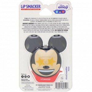 Lip Smacker, Disney Emoji, Mickey, бальзам для губ со вкусом мороженого, 7,4 г (0,26 унции)