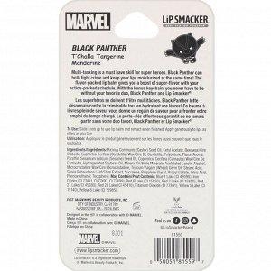 Lip Smacker, Бальзам Marvel Superhero, Black Panther, мандарин, 4 г