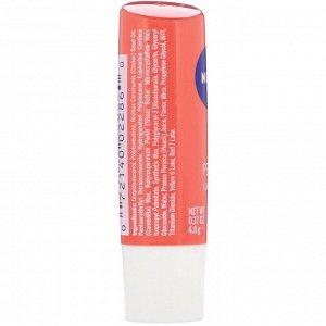 Nivea, Lip Care, Peach, 0.17 oz (4.8 g)