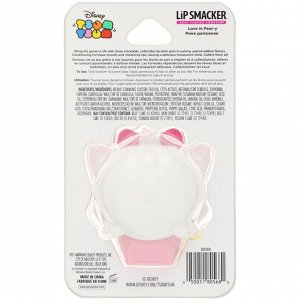Lip Smacker, Бальзам для губ Disney Tsum Tsum, Marie, грушевый, 7,4 г