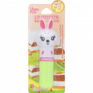 Lip Smacker, Бальзам для губ Lippy Pals, Bunny, морковный, 4 г