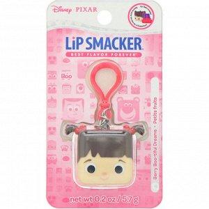 Lip Smacker, Бальзам для губ в кубике Pixar, Boo, ягодный, 5,7 г