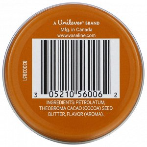 Vaseline, Lip Therapy, Cocoa Butter, 0.6 oz (17 g)