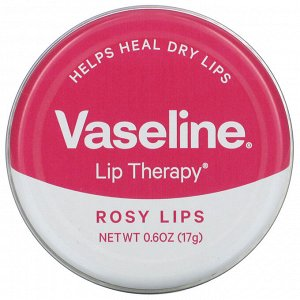 Vaseline, Lip Therapy, Rosy Lips, 0.6 oz (17 g)