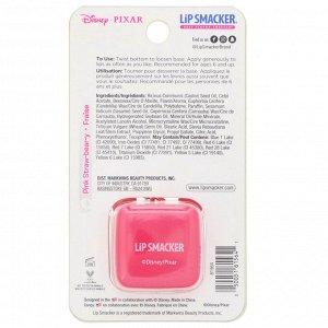 Lip Smacker, Бальзам для губ в кубике Pixar, Lotso, клубничный, 5,7 г