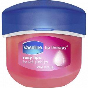 Vaseline, Бальзам для губ Lip Therapy, «Розовые губы», 7 г