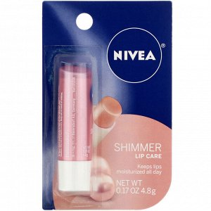Nivea, Radiant Lip Care, Shimmer, 0.17 oz (4.8 g)