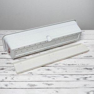 Ящик балконный 80 см, цвет мрамор