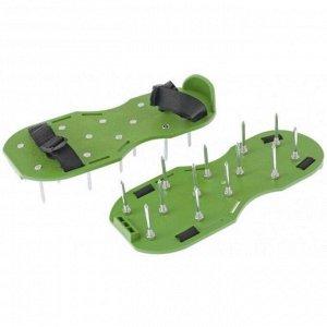 Сандали для аэрации газона со стальными шипами, 26 шипов, длина 50 мм