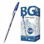 """Ручка шариковая """"B-301"""" синяя 1.0мм 3857 BG {Китай} 🌀"""