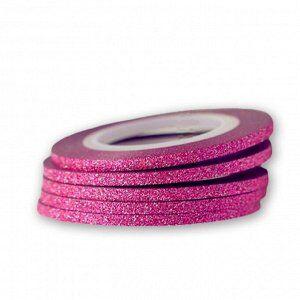 Лента для ногтей 2мм (розовая)