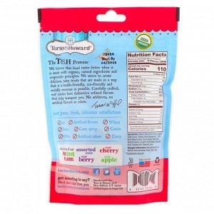 Torie & Howard, Органический продукт, Кислые жевательные фруктовые конфеты, Кислая вишня, 4 унц. (113,40 г)