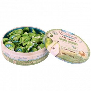 Torie & Howard, Organic, Hard Candy, D&#x27 - Anjou Pear & Cinnamon, 2 oz (57 g)