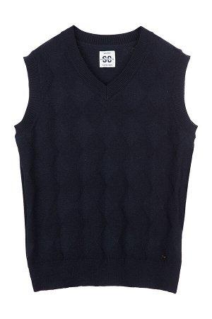 #106304 Жилет темно-синий
