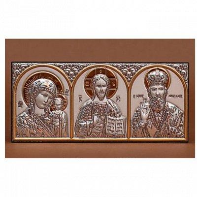 ❤ Серебряные иконы из Греции !❤ Нереально прекрасные 🌷  — триптихи, диптихи, кресты, подвески — Аксессуары
