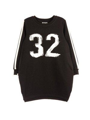 Платье 1028А черный
