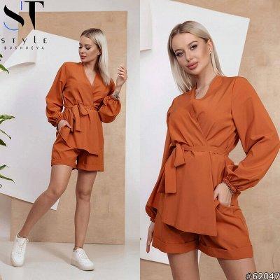《SТ-Style》Стильная женская одежда! Летние новинки — Костюмы с шортами