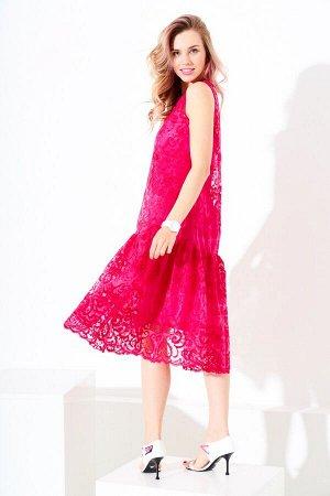 Платье   гипюр  р.44