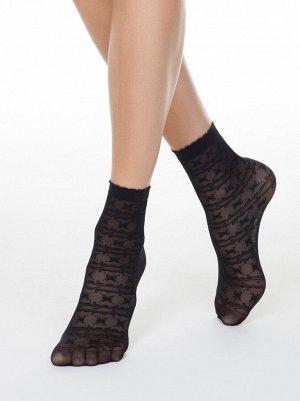 Тонкие носки FANTASY с ажурным рисунком