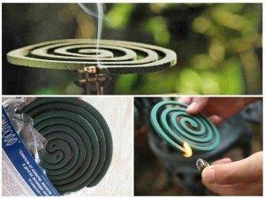 Спирали от комаров Стандарт с подставкой (Фитиль)