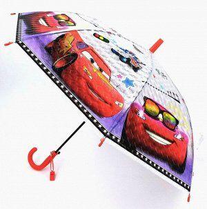 """Зонт-трость детский 3D """"Тачки"""""""