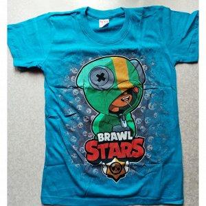 Подростковая футболка Brawl Stars 1071 бирюза