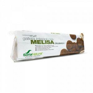 Печенье с мелиссой, цельнозерновое Soria Natural