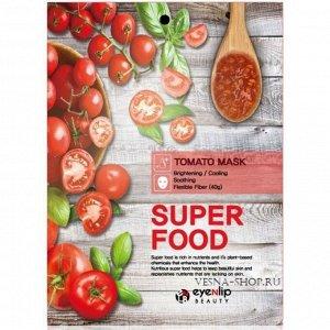 Eyenlip Маска-салфетка с экстрактом томата Super Food Tomato Mask