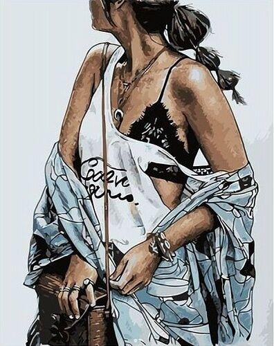 Хобби и творчество. Мегавыбор! Низкие цены! - 62 — Люди, Персонажи - Картины по номерам Paintboy (40*50 см) — Рисование