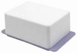 Масленка Масленка [KRITA] СИРЕНЕВЫЙ ТУМАН. Размер149,5 х 90 х 58,7 мм.Пластмассовая посуда гораздо практичнее, чем металлическая или стеклянная. Масленка Krita не погнётся, не треснет и не разобьётся