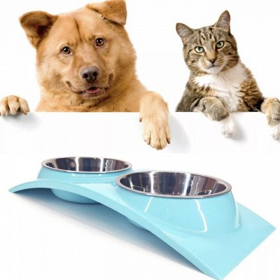 Мир упаковки - для всех. Акция на туалетную бумагу!  — Миски и поилки для собак и кошек — Миски и поилки для собак