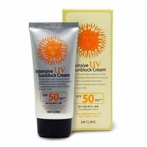 Интенсивный крем для лица с максимальной защитой от солнца  Intensive UV Sun Block Cream