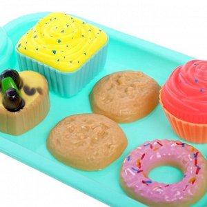 Набор посудки «Чаепитие для кукол» цвета МИКС