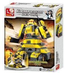 """Констр-р серии Космический, Робот-трансформер """"Горилла"""", 157 дет."""