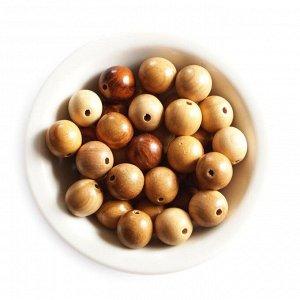Бусины из абрикоса сплющенка 19-18 мм