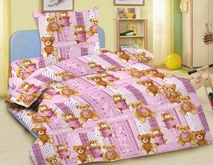 """Комплект постельного белья Улыбашка """"Любимые игрушки"""" Ясли"""