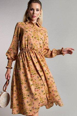 Платье Рафаэлла цвет беж (П-208-5)