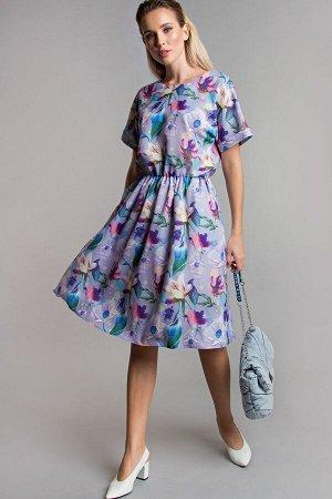 Платье Камилла сирень (П-162-5)