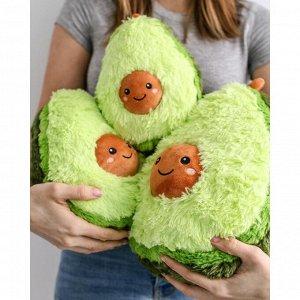 Подушка Плюшевое Авокадо — новая мягкая игрушка — тренд 2020 года! Мягкое, милое, нежное плюшевое авокадо можно использовать в качестве подушки, украшения для дивана или же просто как игрушку для ребё