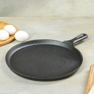 Сковорода блинная Доляна «Круг», d=26 см