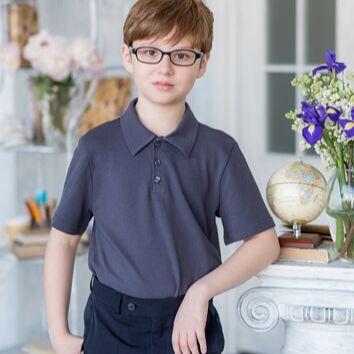 Большой выбор аксессуаров в школу и на праздник — Водолазки, поло для мальчиков — Одежда для мальчиков