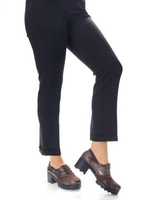 Туфли Страна производитель: Турция Полнота обуви: Тип «F» или «Fx» Материал верха: Нубук Цвет: Коричневый Материал подкладки: Натуральная кожа Стиль: Городской Форма мыска/носка: Закругленный Каблук/П