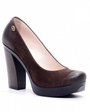 Туфли Страна производитель: Турция Размер женской обуви x: 36 Полнота обуви: Тип «F» или «Fx» Сезон: Весна/осень Тип носка: Закрытый Форма мыска/носка: Закругленный Каблук/Подошва: Каблук Высота каблу