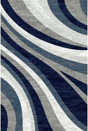 Ковер Ковер SILVER MERINOS 1.5x3.0 d234 GRAY-BLUE /  / Прямоугольник / 1.5x3.0 / Ворс --- / Синий / Современный /  /