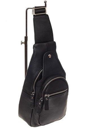 Мужской неформальный sling bag из натуральной кожи