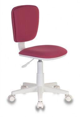 Кресло детское Бюрократ CH-W204NX/26-31 розовый 26-31 (пластик белый)
