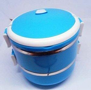 Двойная термомиска круглая SB-10 colour /