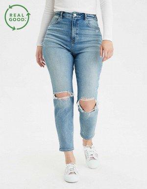 AE Stretch Curvy Mom Jean